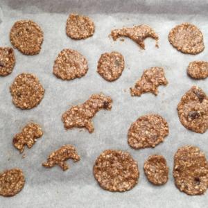 Türchen 6 im Quarantäne-Adventskalender: Hafer-Dinkel-Kekse