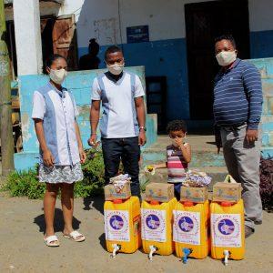 Partnerschaft mit SEED Madagascar zur Unterstützung der Pandemiebekämpfung
