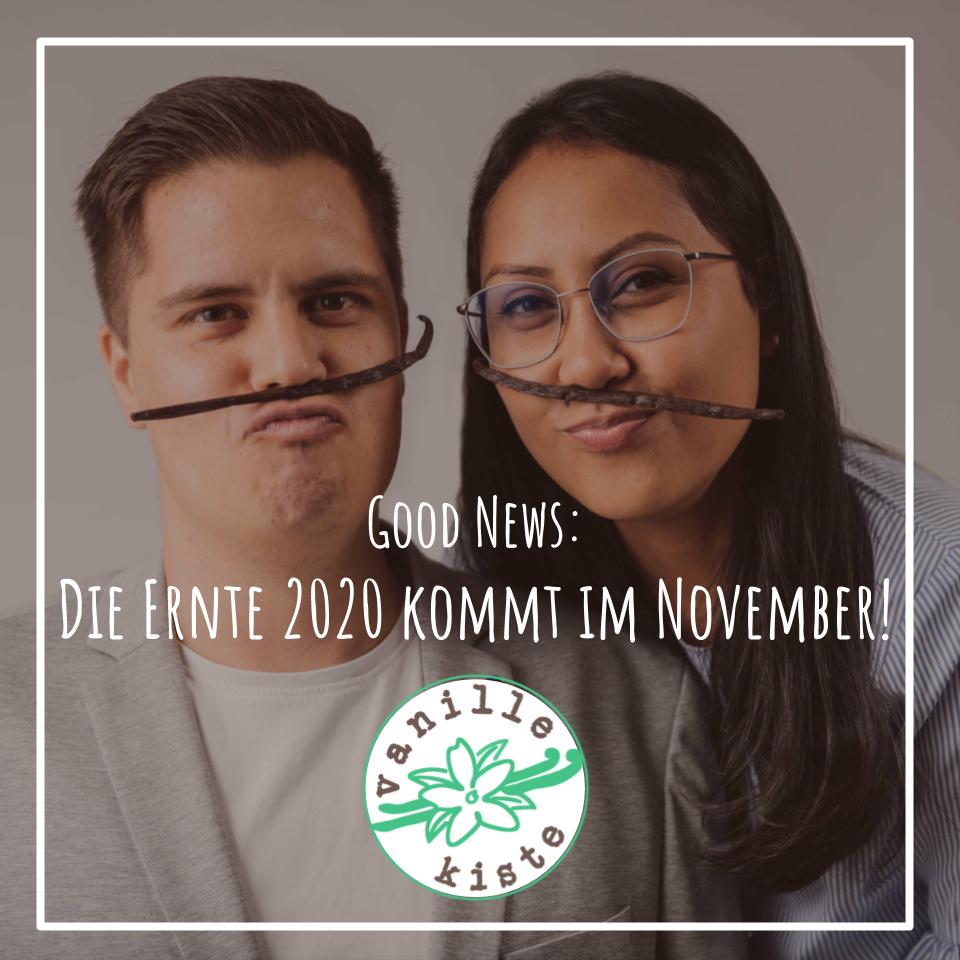 Ernte 2020 ab November im Webshop